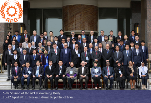 APO's Governing Body Meeting in Tehran