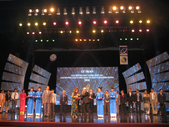 Vietnam National Quality Award Ceremony