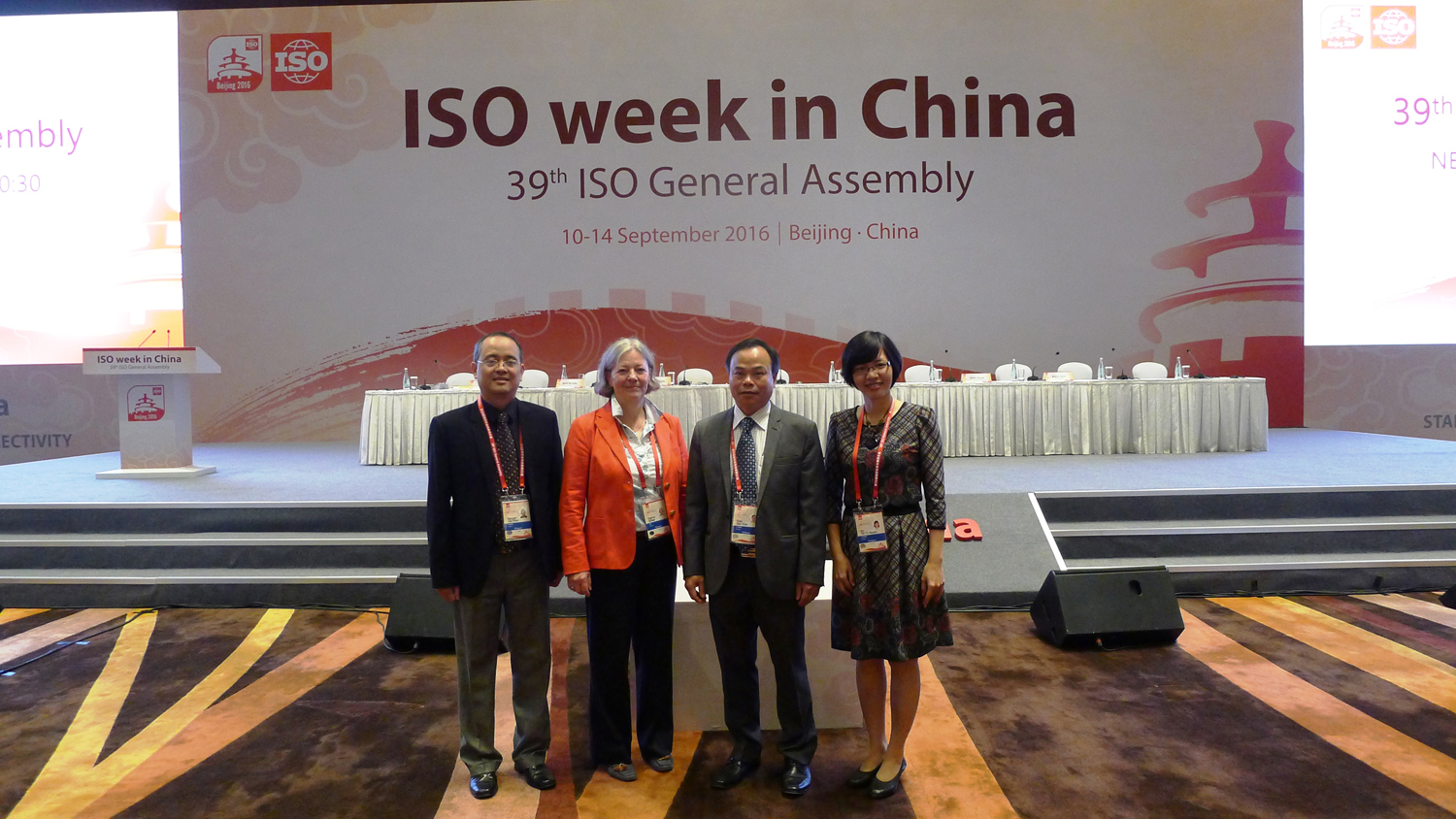 Viet Nam delegation attended 39th ISO General Assembly in China