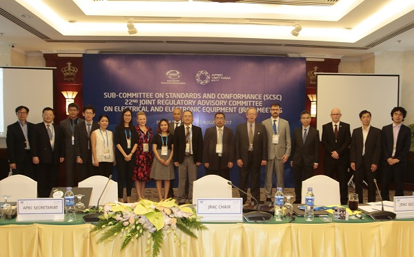 APEC sub-committee meeting talks electrical equipment management